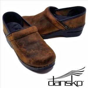 DANSKO 206-780202 Antique Brown Women's 6-1/2 Med